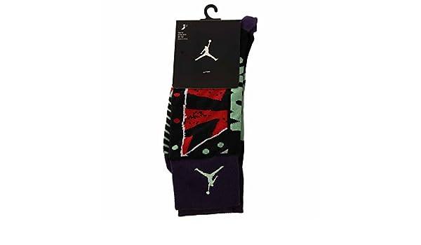 Amazon.com : Nike Jordan MARS Crew Socks Ink/Black 684040-535 (Medium 6-8) : Sports & Outdoors
