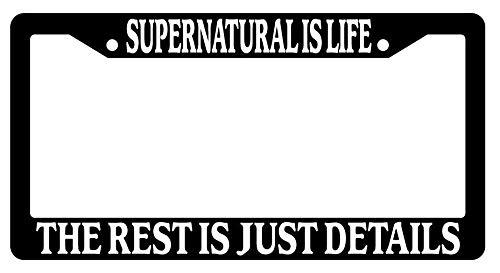 Chrome License Plate Frame Soccer Is Life The Rest Is Just Details Auto Novelty