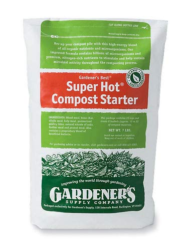 Gardener's Supply Company Compost Starter Super Hot, 7-Pound. Resealable -