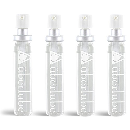 Überlube Good-to-Go Traveller Refills - Four 15ml Refills (60ml total) in Two Boxes.