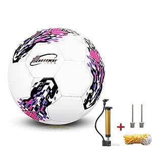 LINKLANK - Balón de fútbol para Adultos y niños (Poliuretano, con ...