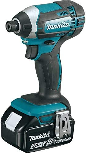 Makita XDT111-R 18V LXT 3.0 Ah Cordless Lithium-Ion 1 4 in. Hex Impact Driver Kit Renewed