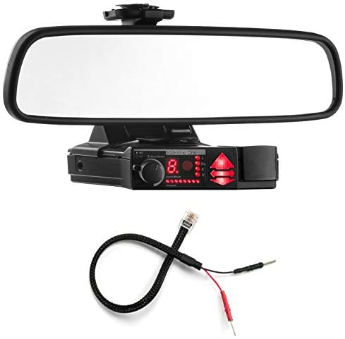 Radar Mount Mirror Mount Bracket Mirror Wire Power Cord – Valentine V1 Radar Detector