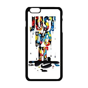 NIKE JUST DO IT Classic Print Black Case With Hard Shell Cover for Diy For Touch 4 Case Cover