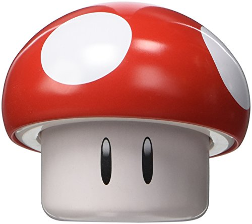 New Super Mario Brothers Red Mushroom Candy Tin [Cherry - Nintendo Mushroom Candy