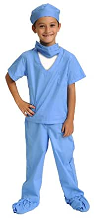 Aeromax Jr. Doctor Scrubs, available in Blue or Pink