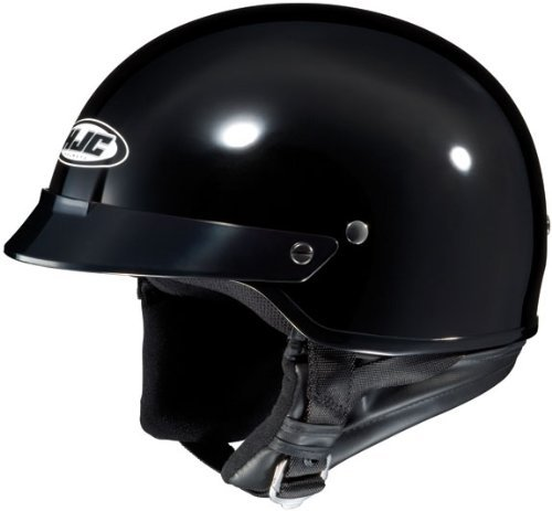 HJC Helmets CS-2N Helmet (Black, Large) ()