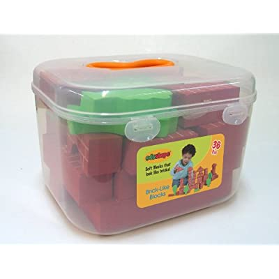Edushape Brick-Like Edublocks Set of 36 : Baby Toys : Baby