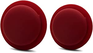 Silicone Apple AirTag Sticker Mount for Apple Tracker Device (red)