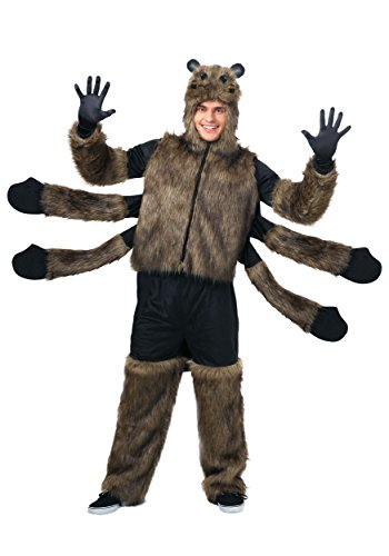 Adult Furry Spider Costume Large