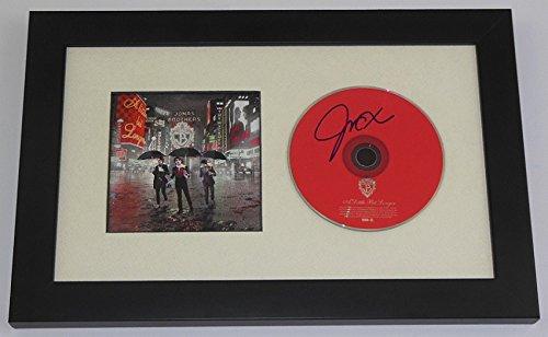 - Jonas Brothers A Little Bit Longer Joe Jonas Beautiful Signed Autographed Music Cd Custom Framed Display Loa