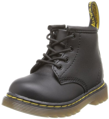 Dr. Martens Girl's BROOKLEE Black Fashion Boots 5 M -