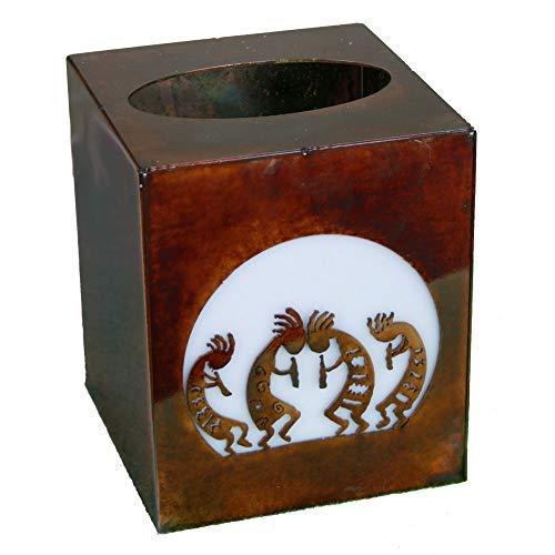 - Chevelon Goods Decorative Rustic Finish Small Tissue Box Cover - Kokopellis