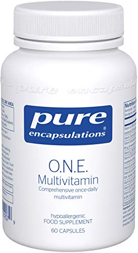 Pure Encapsulations - O.N.E. Multivitamin - Comprehensive Once-Daily...