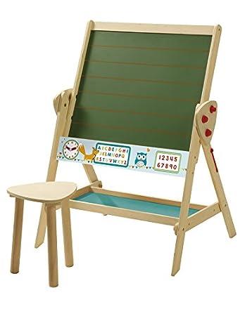 roba Tafel & Kinder-Sitz-Set, Kindertafel wandelbar zu Tisch-Stuhl ...