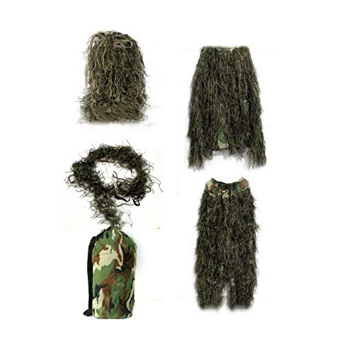 WEIFAN Children's Ghillie Woodland Suit(Suitable for 1.1-1.3m) -