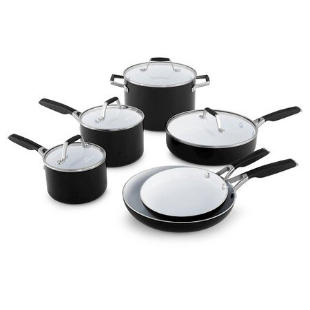 Amazon Com Select By Calphalon Ceramic Nonstick 10 Piece