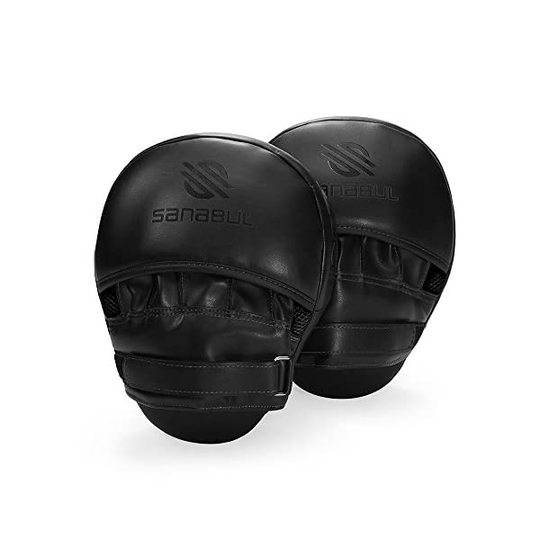 Sanabul Essential Curved Boxing MMA Punching Mitts 4