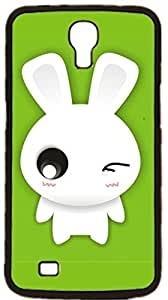 Bunny rabbit Hard Case for Samsung Galaxy Mega 6.3 I9200 I9205 ( Sugar Skull )