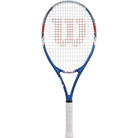 Wilson Tour Slam Adult Strung Tennis Racket (1 Racket, Blue)