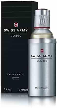 Swiss Army Eau de Toilette Spray for Men, 3.4 Ounce