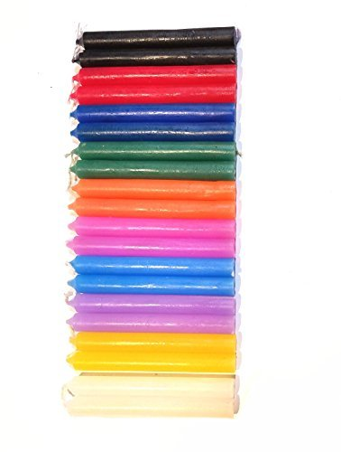 (Chime Candles (20 Candles in 10 Different Colors.))