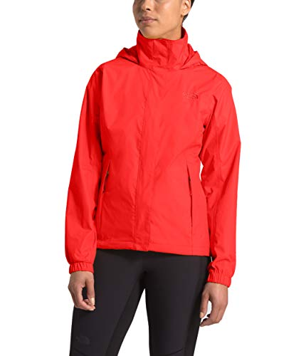 The North Face Women's Resolve Jacket, Fiery Red, XL