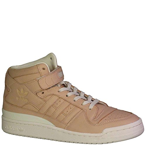 adidas Originals Men's Forum MID Refined Fashion Sneaker, Supplier Colour/Chalk, 11 M US