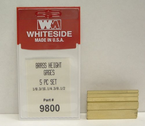 Whiteside Machine 9800 Brass Blocks