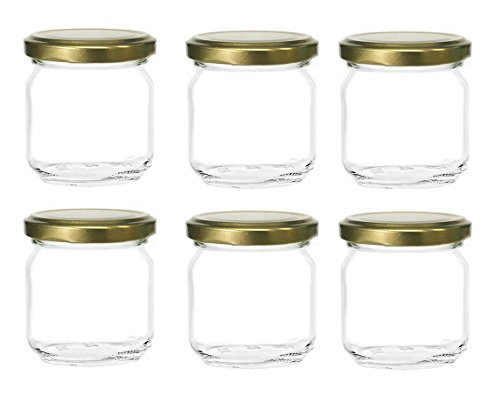 8 oz glass jars - 8