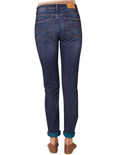 Extensible Recto Regular Estilo Cintura Ajuste Normal 620 Carrera 752 Para Tejido Mujer Azul Denim Jeans XxT8wHqA