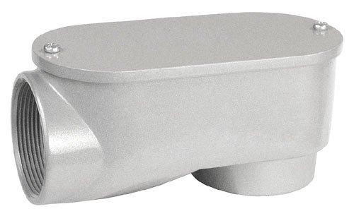 - 3/4 Inch Powder Coated Die Cast Aluminum Lb Style Service Entrance Conduit Body-10 per case