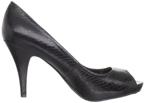 Black Pump Grace Peep Women's Fergalicious Toe q6wAzXX8