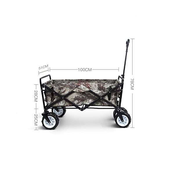 YD Pet Travel Carrier Pet Trolley Multifunctional Folding Four-wheeled Pet Stroller Large Dog Cart Pet Scooter Camping… Click on image for further info. 2