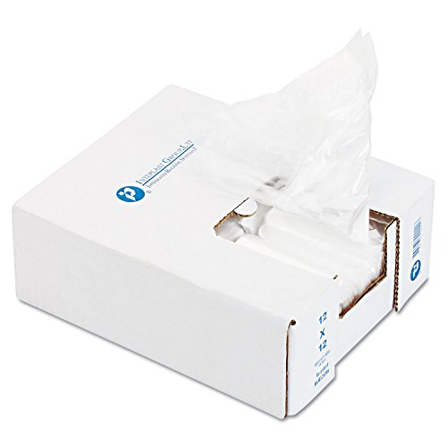 Ice Bucket Liner, 6 X 6 X 12, 3qt, .5mil, Clear, 1000/carton By: Inteplast Group
