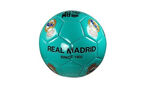 (Real Madrid C.F. Authentic Official Licensed Soccer Ball Size 4 -02-1)