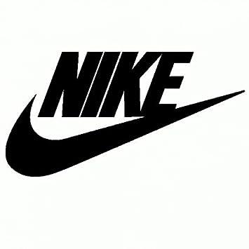 Nike Adesivo Prespaziato Colore Nero 15cm: Amazon.it