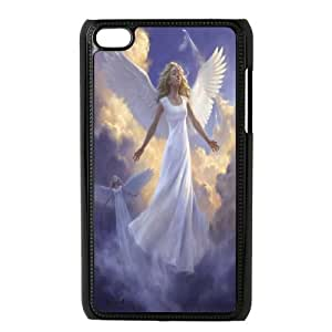 Elegent Angel,Angel Love Us Productive Back Phone Case FOR IPod Touch 4th -Pattern-10