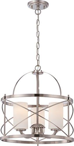 Nuvo Lighting 60/5333 Three Light Pendant, 16