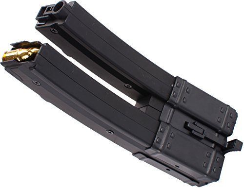 Evike Matrix MP5 560 round High-Capacity Dual Magazine with Dummy Rounds by Evike