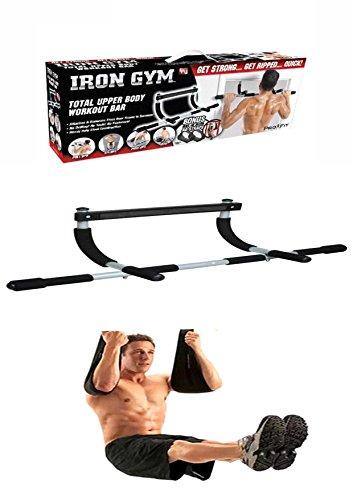 Protoner Iron gym with Ab Straps Multi purpose chin up bar