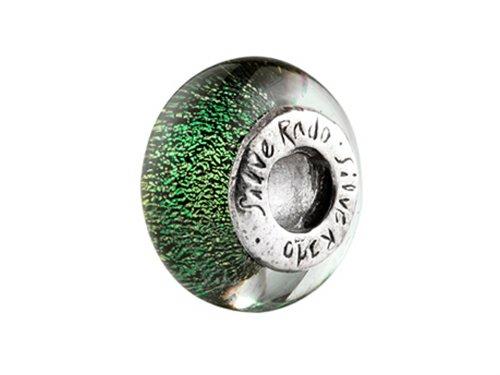 SilveRado Murano Glass New York Bead/Charm