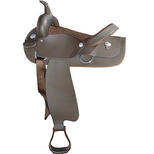 Wintec Semi-Quarter Western Saddle 16 Inch Brown