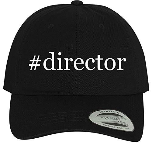 BH Cool Designs #Director - Comfortable Dad Hat Baseball Cap, Black ()