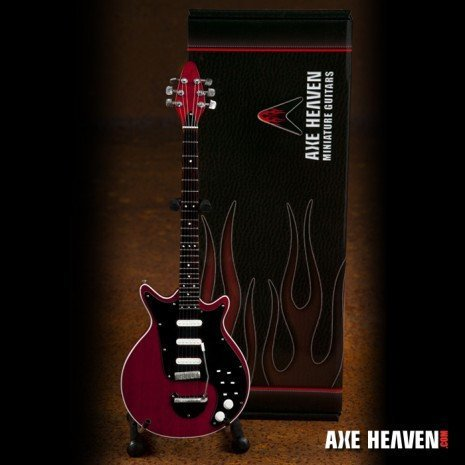 Hacha HEAVEN Brian May rojo especial guitarra en miniatura de ...