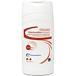 Douxo (Sogeval) Chlorhexidine Shampoo for Dogs & Cats (200 ml) - Topical Solution for Skin Infections