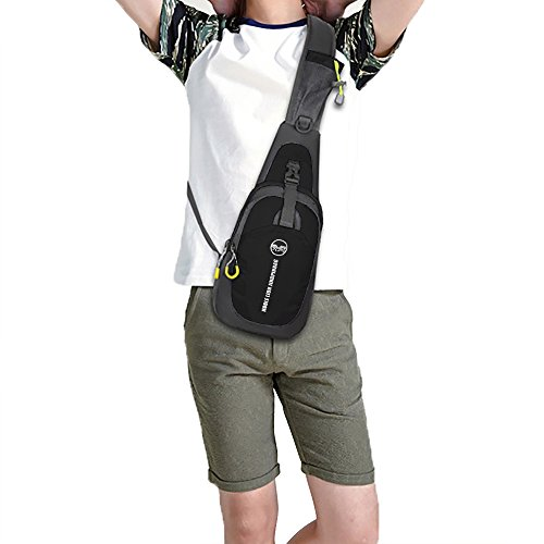 with Men amp; Casual Chest Strap Body Bag Shoulder Adjustable Women Pack Chuangxiangt Bag Cross Sling for HqIO86wx6