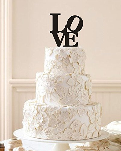Amazoncom Engagement Cake Topper Love Cake Topper Custom Wedding