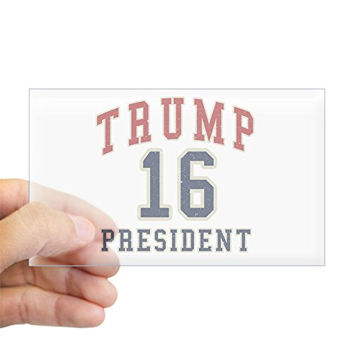 CafePress Donald Trump for President Sticker (Rectangle) Rectangle Bumper Sticker Car Decal (Marco Rubio For President 2016 Bumper Sticker)