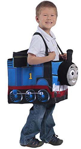 Princess Paradise Thomas The Tank Engine Ride-in Train Costume, Blue, Child]()
